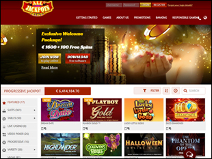 All Jackpots Casino Home