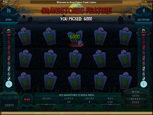 Alaxe in Zombieland Slot Free Spins