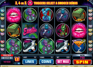 Sneak-a-Peek: Planet Exotica slot machine