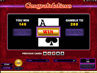 Burning Desire Slot Gamble Feature