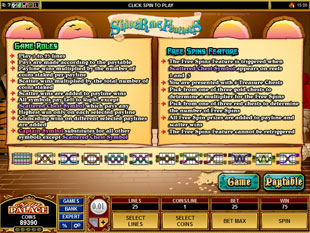 Shiver Me Feathers Slot Free Spins