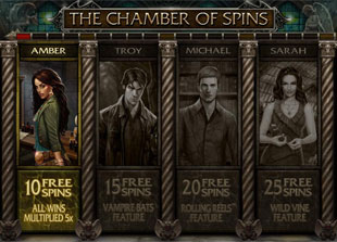 Immortal Romance Slot Free Spins