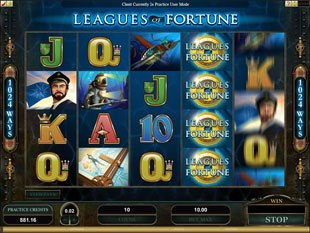 Leagues of Fortune Slot Machine