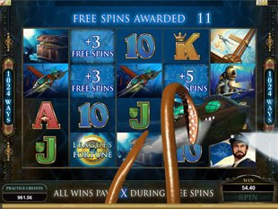 Leagues of Fortune Slot Free Spins