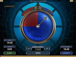 Leagues of Fortune Slot Gamble Feature